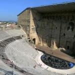 Det romerske teateret i Orange.