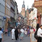 Gågata i Heidelberg