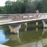 Hengelåser på broen i Lübeck