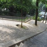 Opp til Sacré-Cœur - Tiltettelagt for rullestolbrukere og barnevogner...